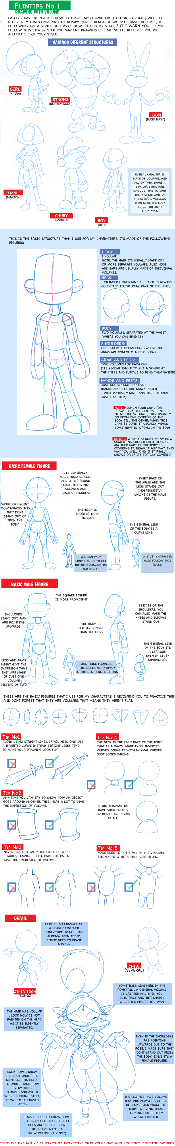 Tutorial: Drawing with volume by FlintofMother3