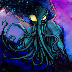 The Great Cthulhu by LangleySerina