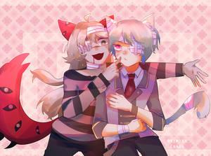 Commission - Niku and Ezra