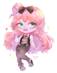 Commission Chibi - Lucy