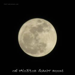 ON 19-03-2011 Giant Moon