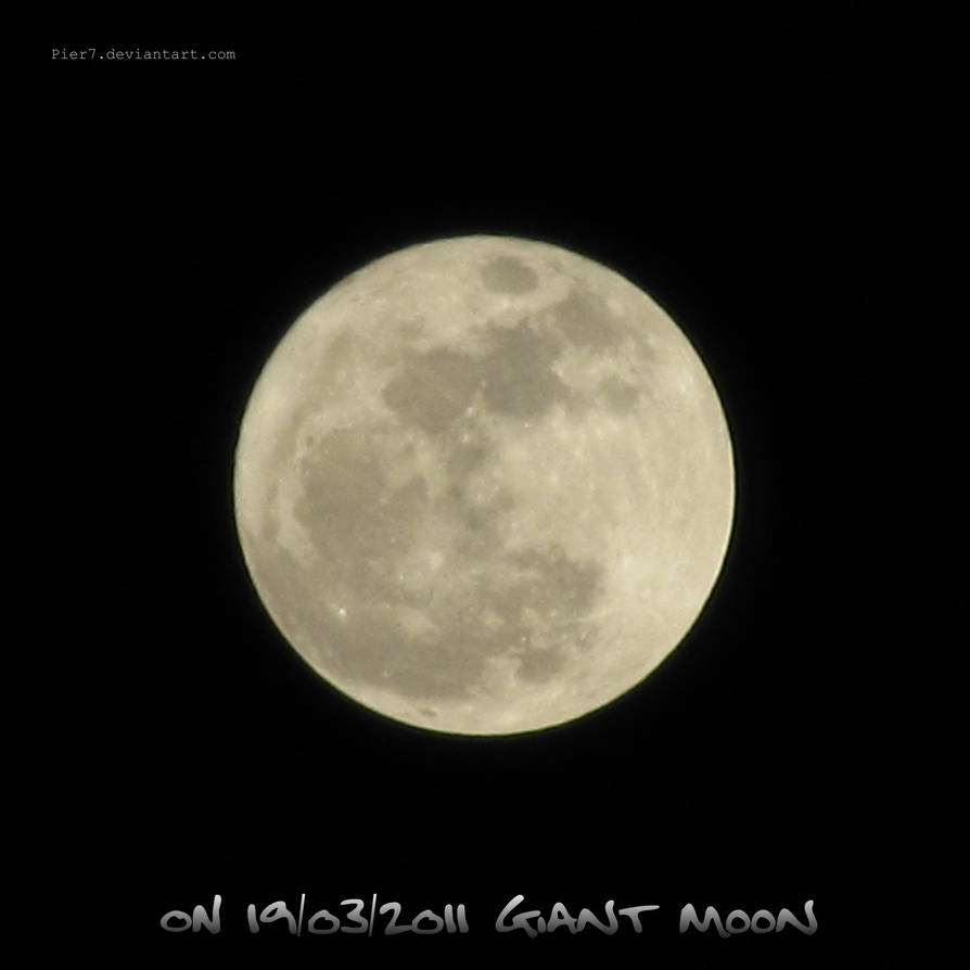 ON 19-03-2011 Giant Moon by Pier7