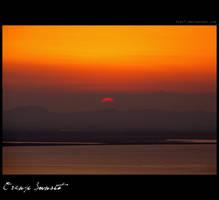 Orange Sunset by Pier7