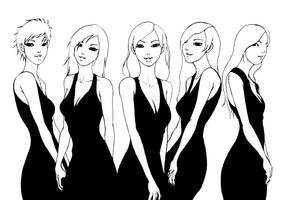 All The Pretty Faces - B.W by 6-470-818-671