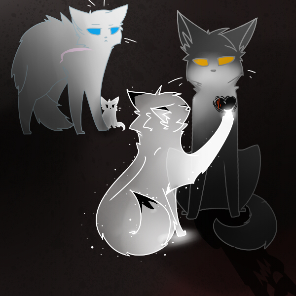 Warrior Cats Thistleclaw And Snowfur Thistleclaw by wrenthecat thistleclaw