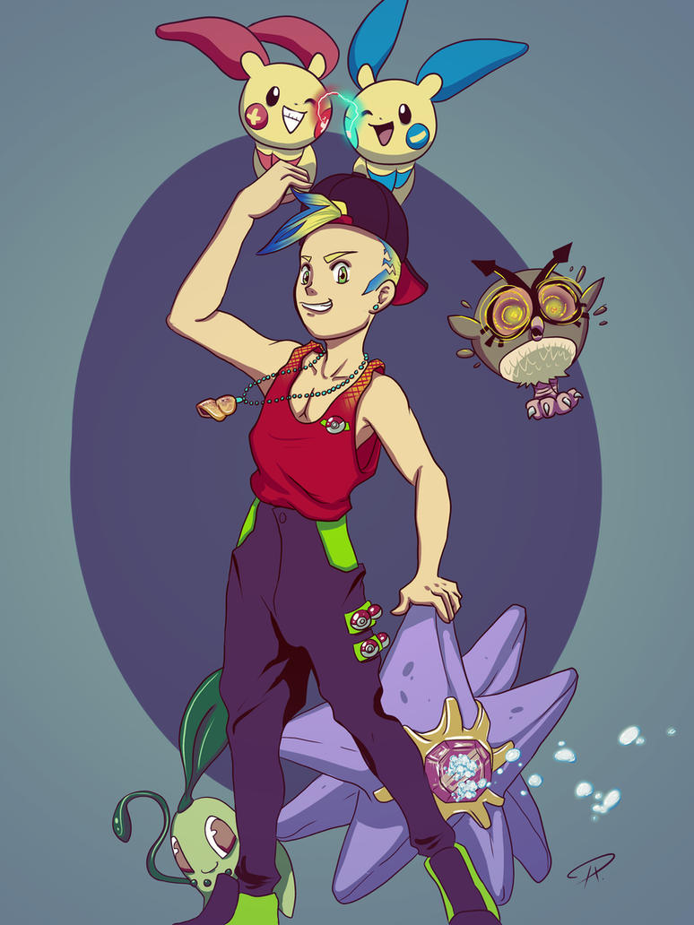 Pokemon Trainer Me by metal-ostrich