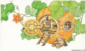 Pumpkin house by ironland