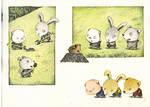 pig,rabbit and dog