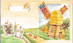 rainbow windmill by ironland