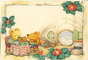 afternoon tea in winter by ironland