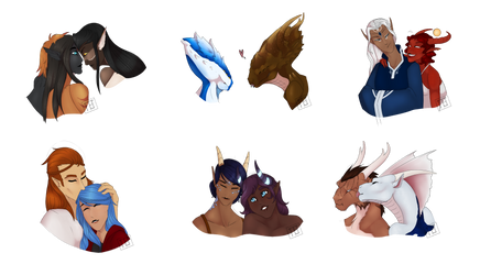 Look At All These Ships by TheElderTrinity