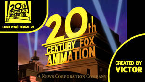 20th Century Fox Animation logo (1999) remake V5