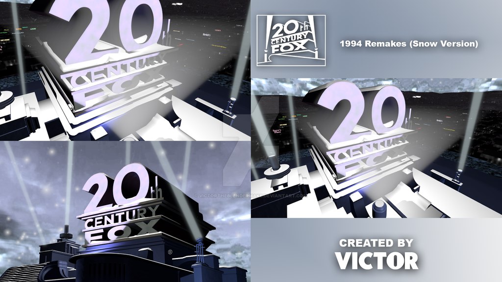 20th Century Fox 1994 Remakes (Snow Version) by