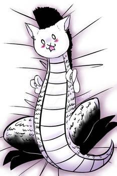 Crazy dragon (bodypillow?)