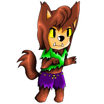 .::Pixel art::.Lobito~Wolfie by Nite3007