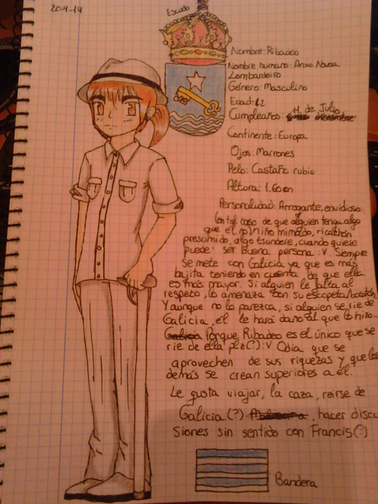 .::New OC::.Ribadeo~ by Nite3007