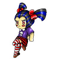 .::Pixel art::. Dummygirl by Nite3007