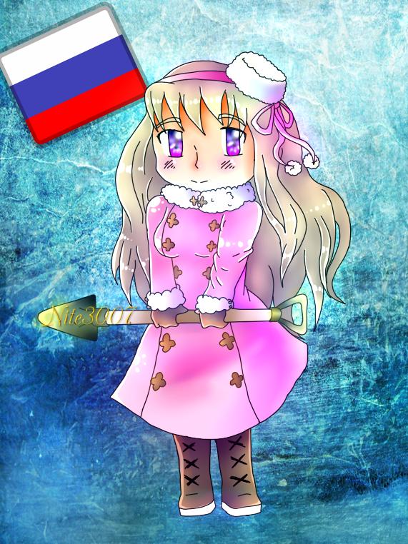 .::APH::.Chibi Nyo!Russia by Nite3007