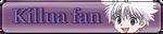 Killua fan button by Senpai-Hero