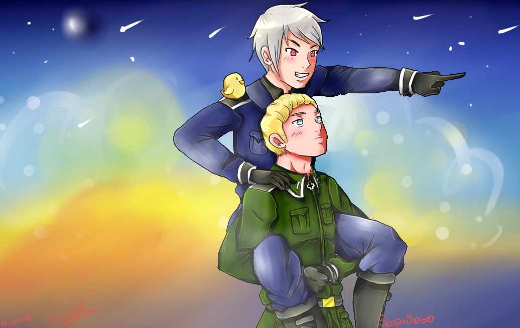 Germancest power~ by Nite3007