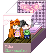Mika and Choromatsu Box by Senpai-Hero
