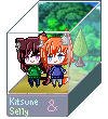 _PC_ Pixel Box - Kitsune and Selly by Senpai-Hero