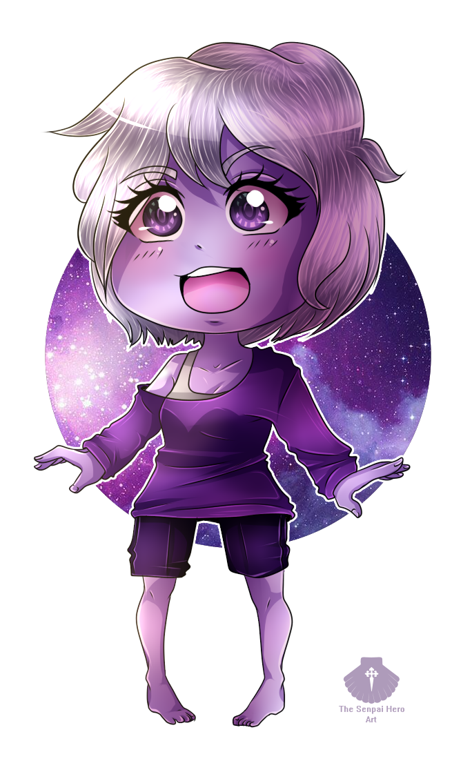_AT_ PoisonPeas - Violet by Senpai-Hero