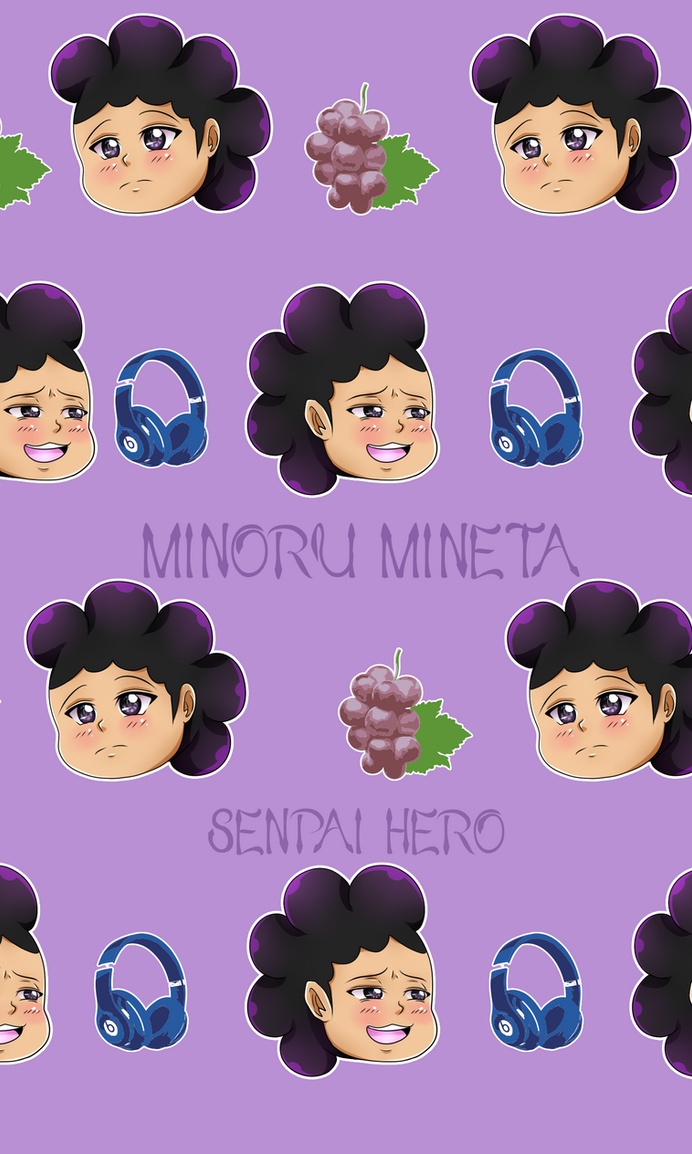 Minoru Mineta - Mobile Background by Senpai-Hero