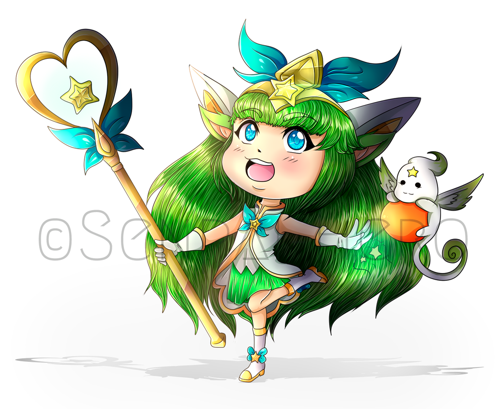 Chibi Lulu Star Guardian by Senpai-Hero