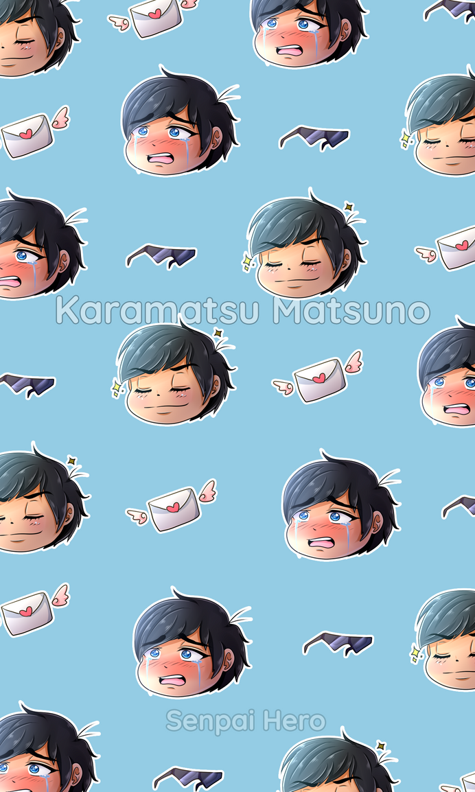 Karamatsu Matsuno - Mobile Background by Senpai-Hero