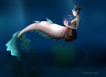 Chinese Mermaid by Senpai-Hero