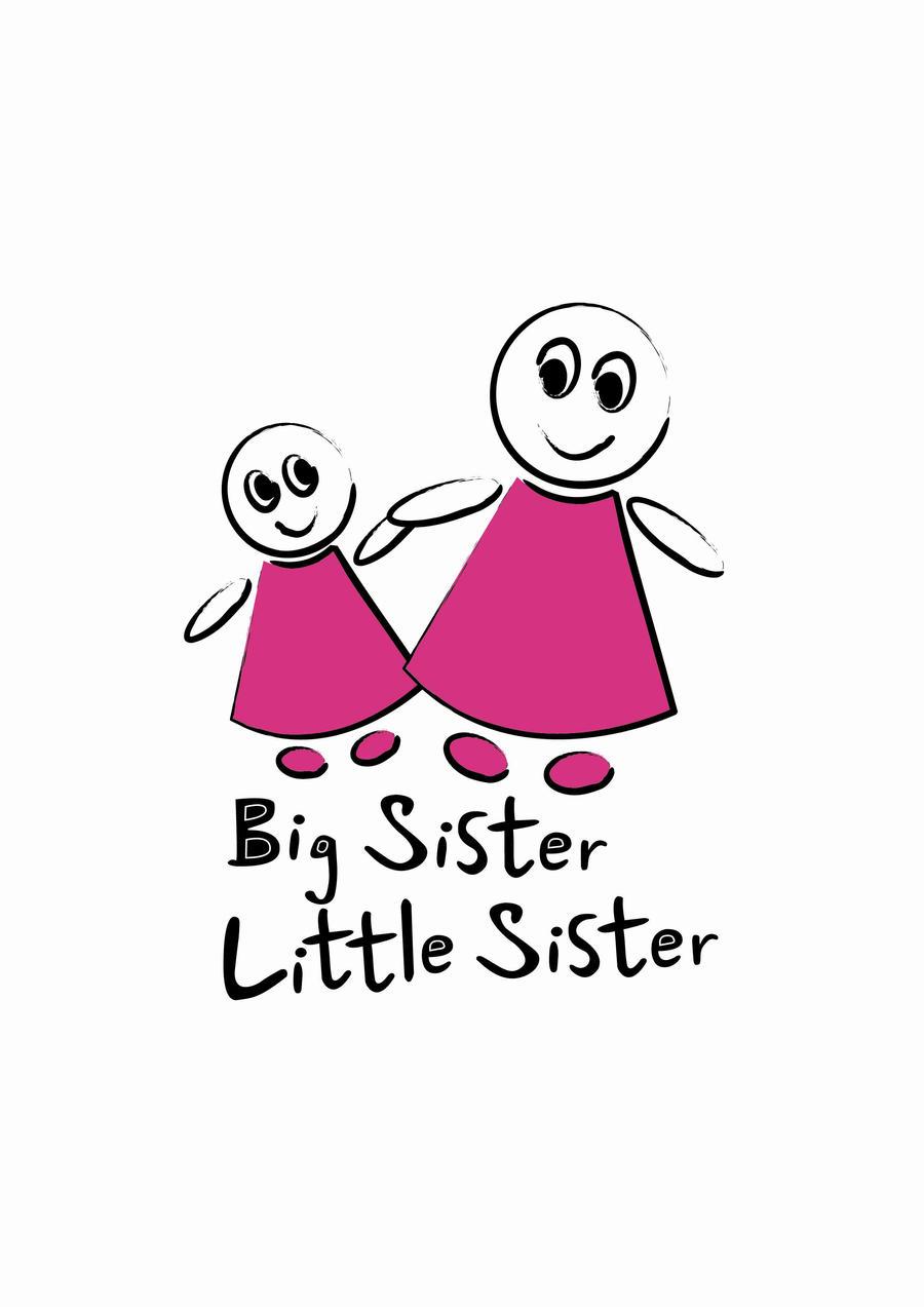 little sis ... big sister little sister logo by parker089