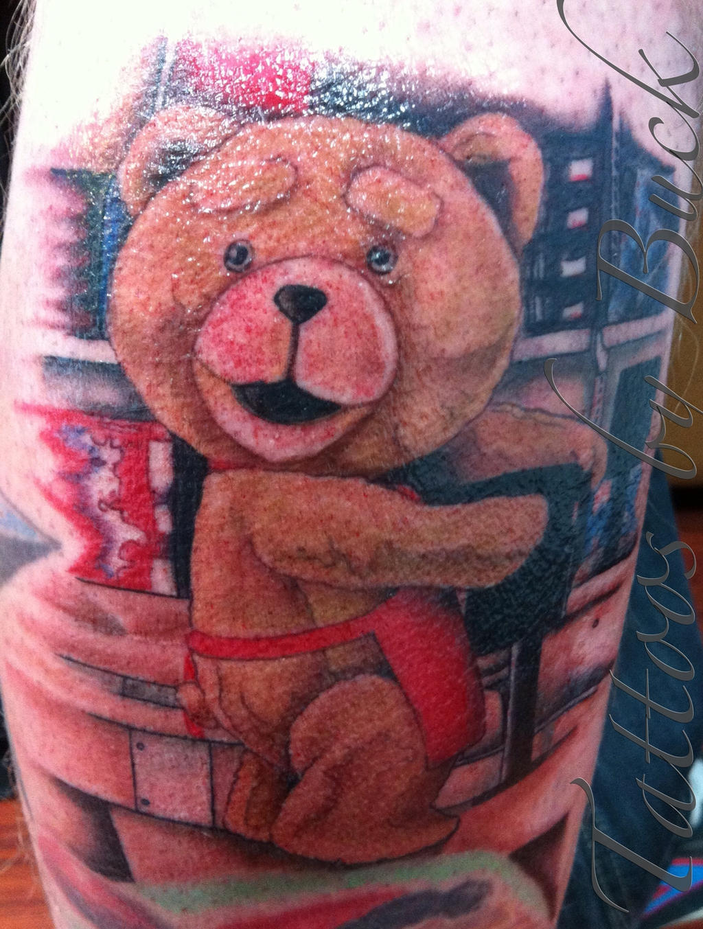 Art Body Modification Tattoos An Awesome Ted Tattoo I Mad Recently