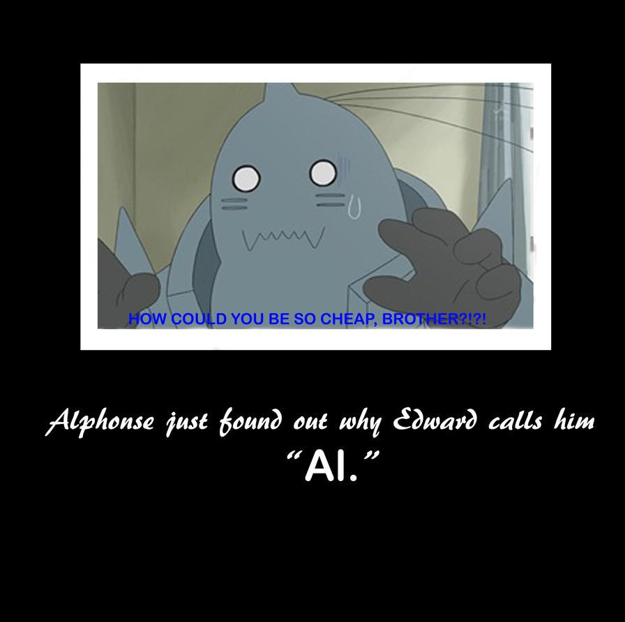 Alphonse Motivational by RenagadeRexRider