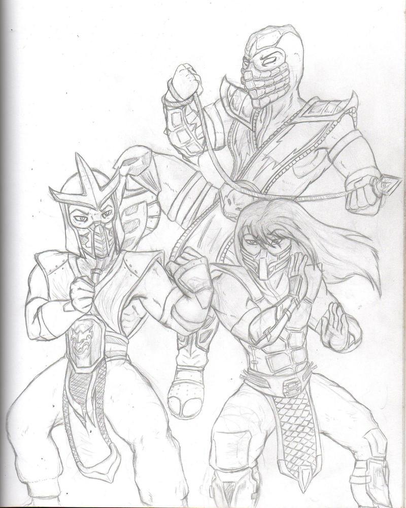 Mortal Kombat by RenagadeRexRider