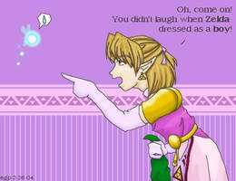 Princess Link by rydiahighwind
