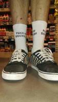 vans and socks