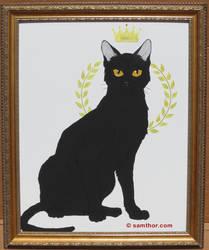 Black Cat King by Samthor