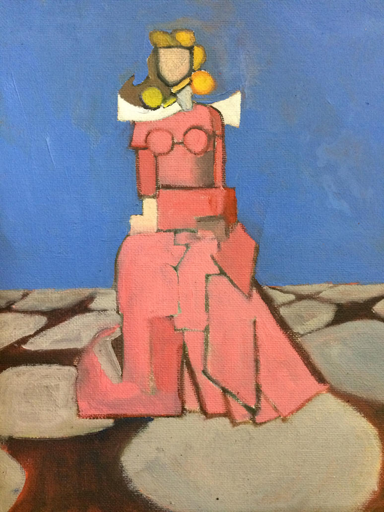 Sleeping Beauty Cubist by heybeliever