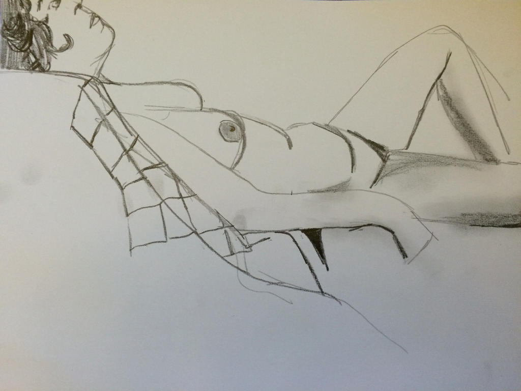 Life drawing 5 by heybeliever
