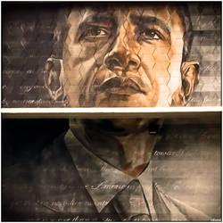 Obama Mural by MililaniMak