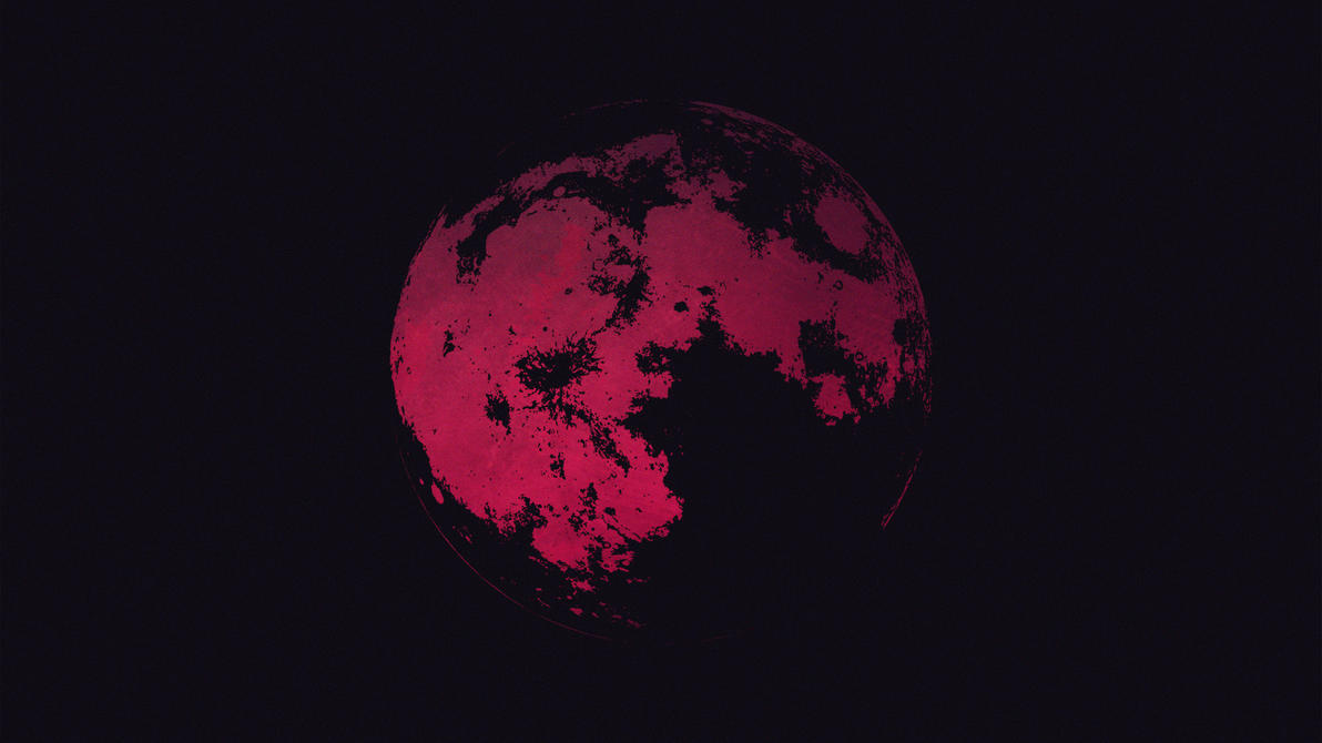 Red Moon Wallpaper: Red Moon Wallpaper By Gi-go On DeviantArt