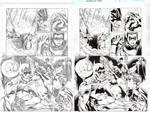 BN Batman issue 1 Inks