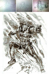 GRIFTER and pencils steps by ardian-syaf