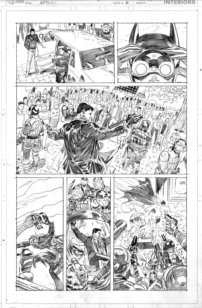 Batgirl page by ardian-syaf