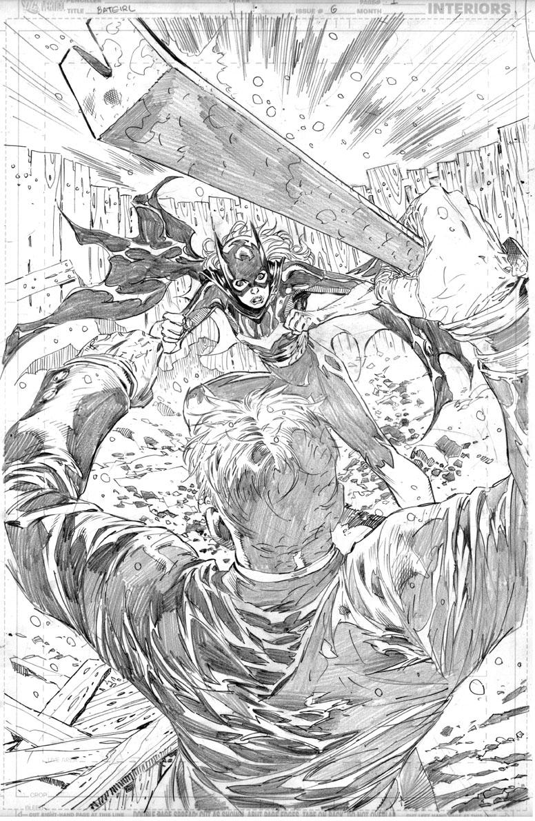 Batgirl page 2 by ardian-syaf