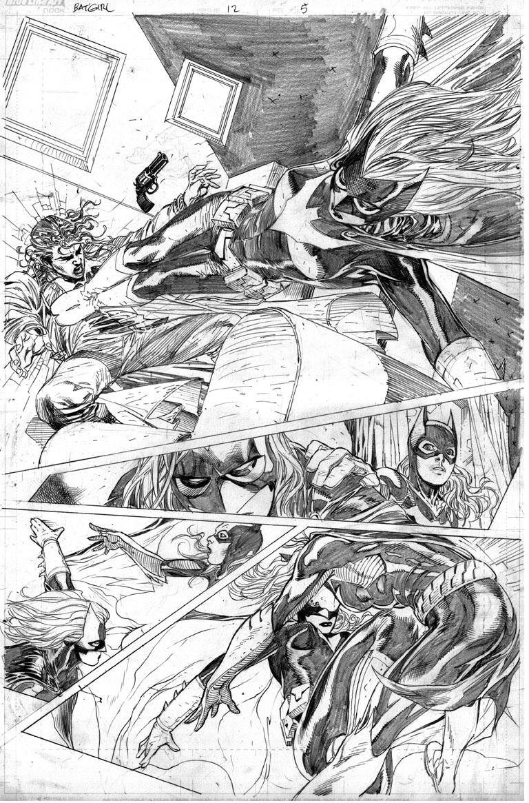 Batgirl vs Batwoman by ardian-syaf