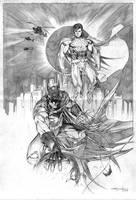 Superman Batman by ardian-syaf