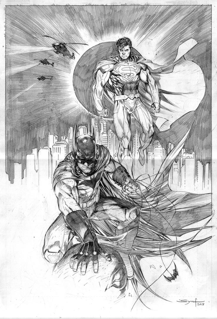 Superman Batman by ardian-syaf