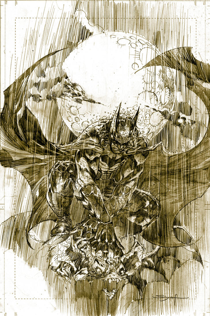 Batman in Rain by ardian-syaf